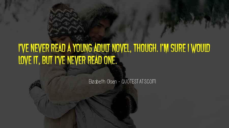 Elizabeth Olsen Quotes #218497