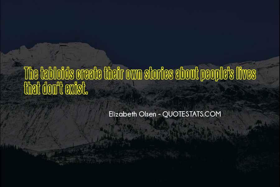 Elizabeth Olsen Quotes #310443