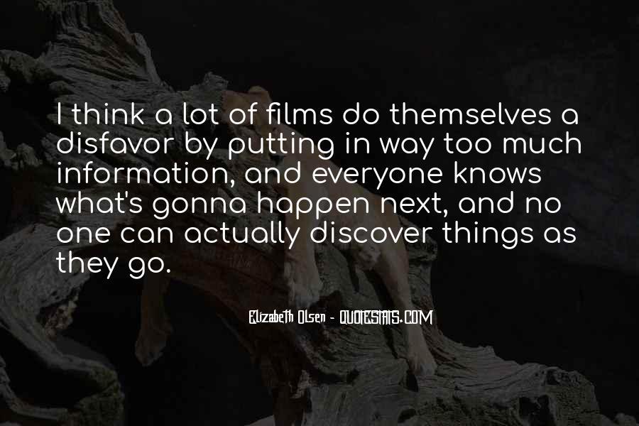 Elizabeth Olsen Quotes #324952