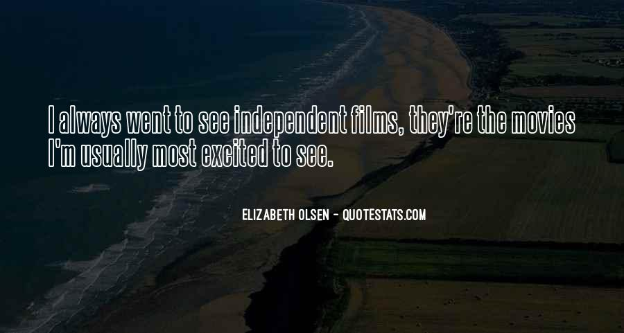 Elizabeth Olsen Quotes #465332