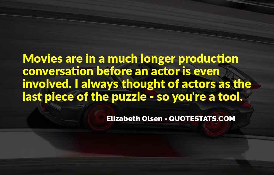 Elizabeth Olsen Quotes #583353