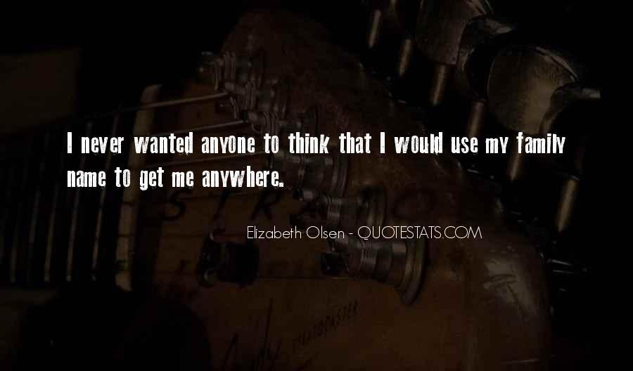 Elizabeth Olsen Quotes #604532