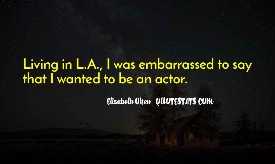 Elizabeth Olsen Quotes #660193
