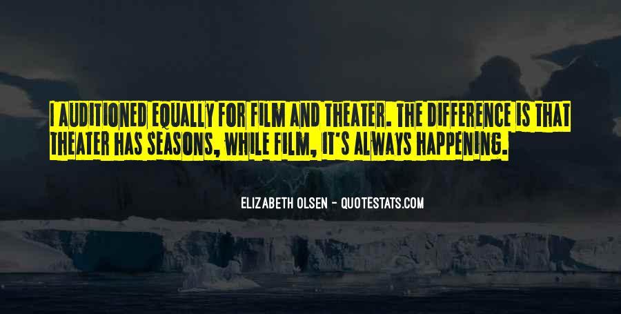 Elizabeth Olsen Quotes #71449