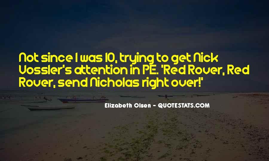 Elizabeth Olsen Quotes #87451