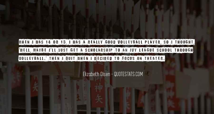 Elizabeth Olsen Quotes #939640