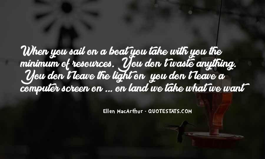 Ellen Macarthur Quotes #364222