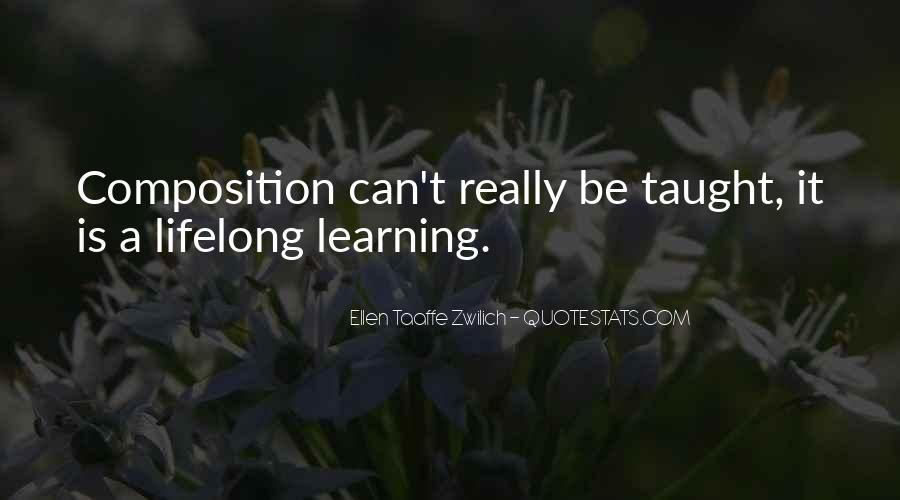 Ellen Taaffe Zwilich Quotes #1535576