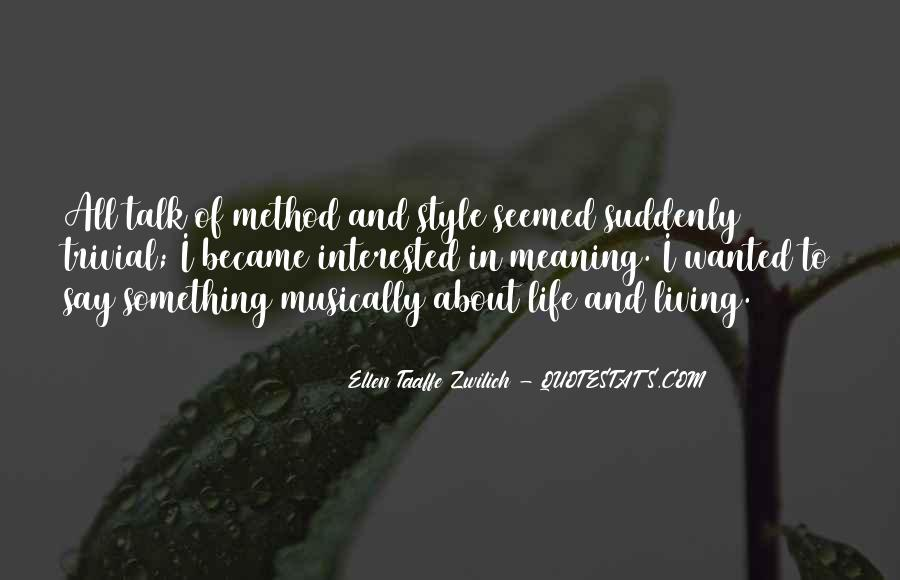 Ellen Taaffe Zwilich Quotes #1822486