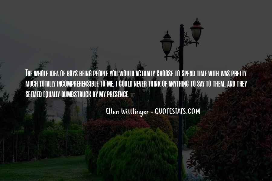 Ellen Wittlinger Quotes #1565589