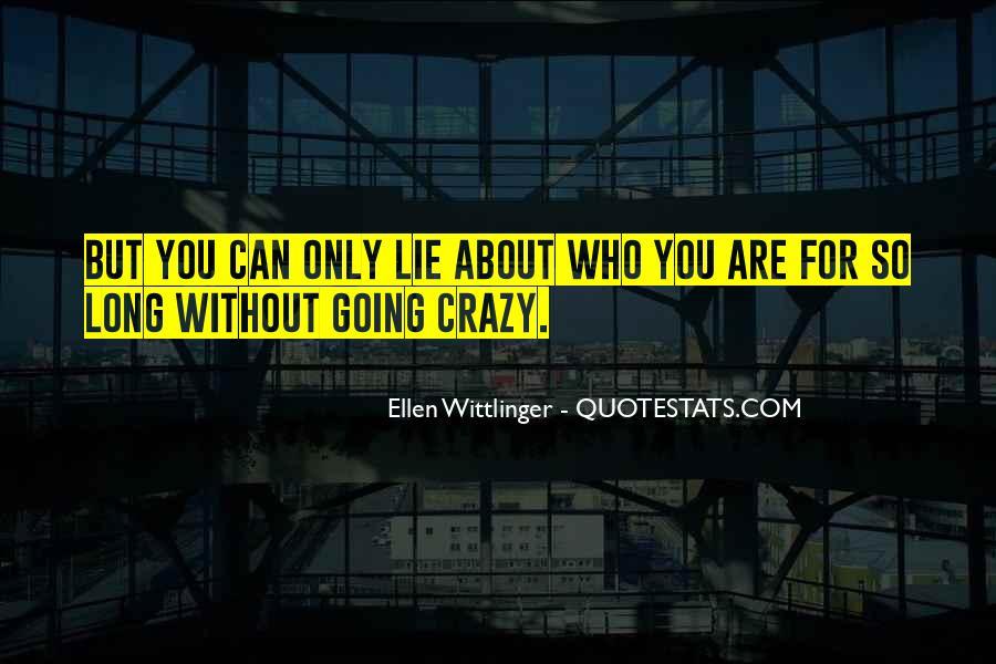 Ellen Wittlinger Quotes #1608642