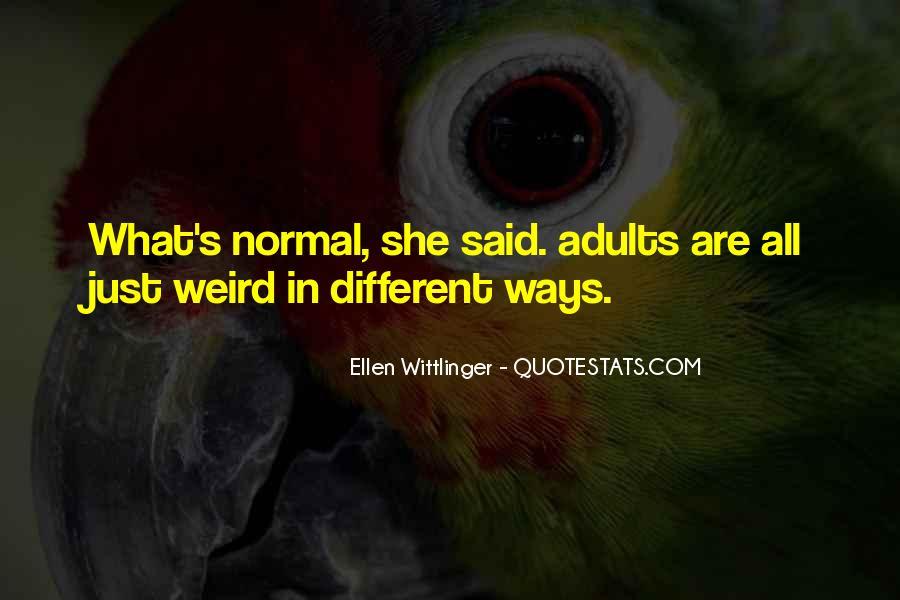 Ellen Wittlinger Quotes #850786