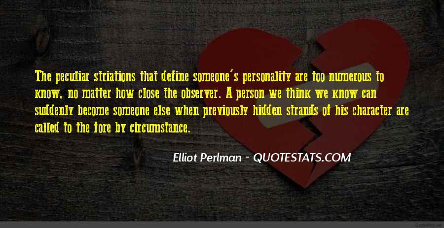 Elliot Perlman Quotes #1432978