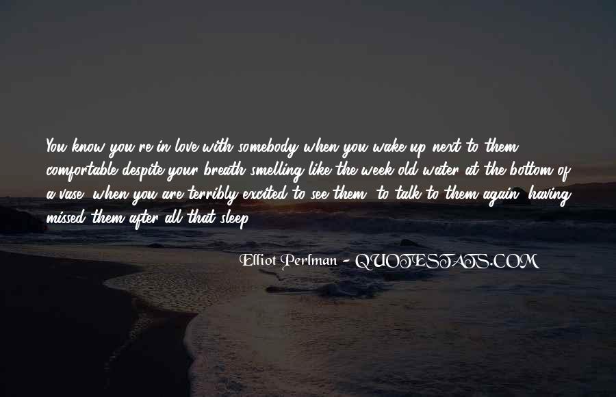 Elliot Perlman Quotes #1732465