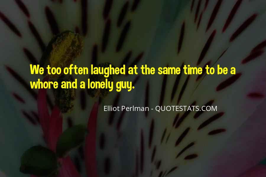 Elliot Perlman Quotes #557826