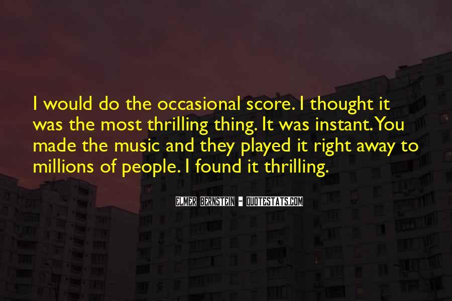 Elmer Bernstein Quotes #1020489