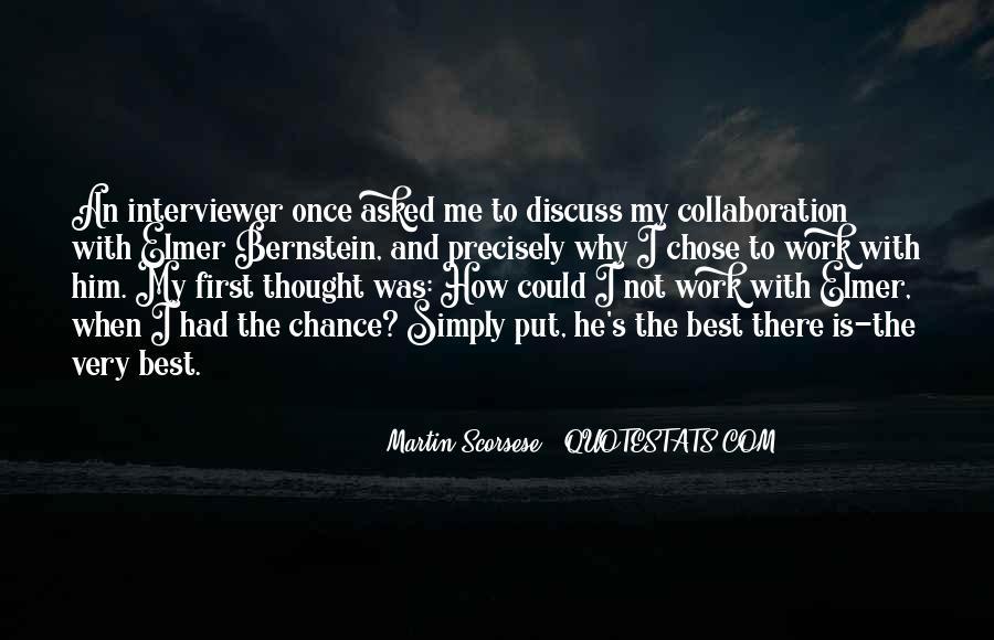 Elmer Bernstein Quotes #1142008