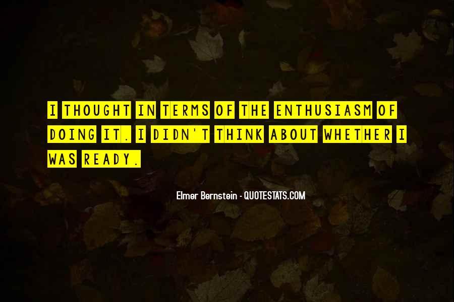Elmer Bernstein Quotes #1231895