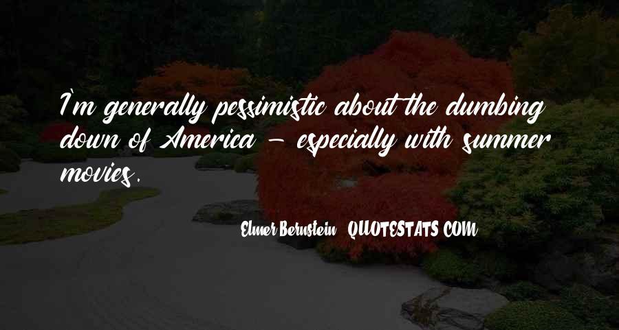 Elmer Bernstein Quotes #1866966