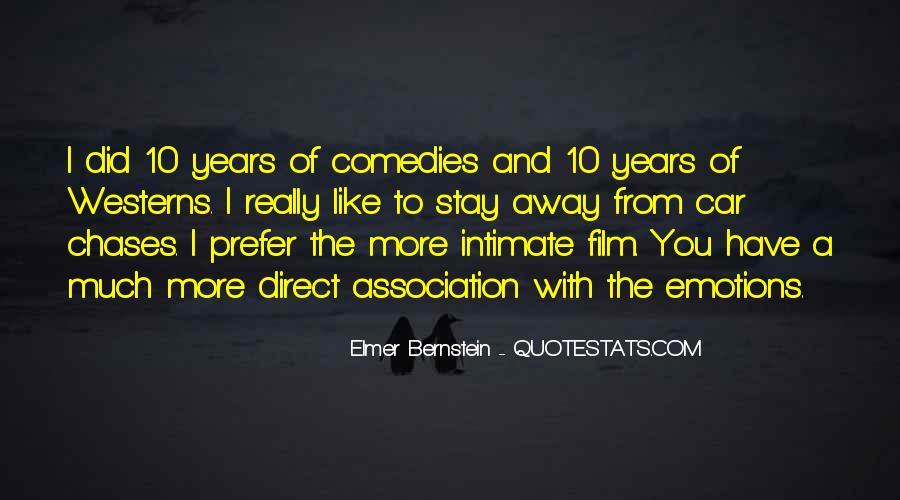 Elmer Bernstein Quotes #890415