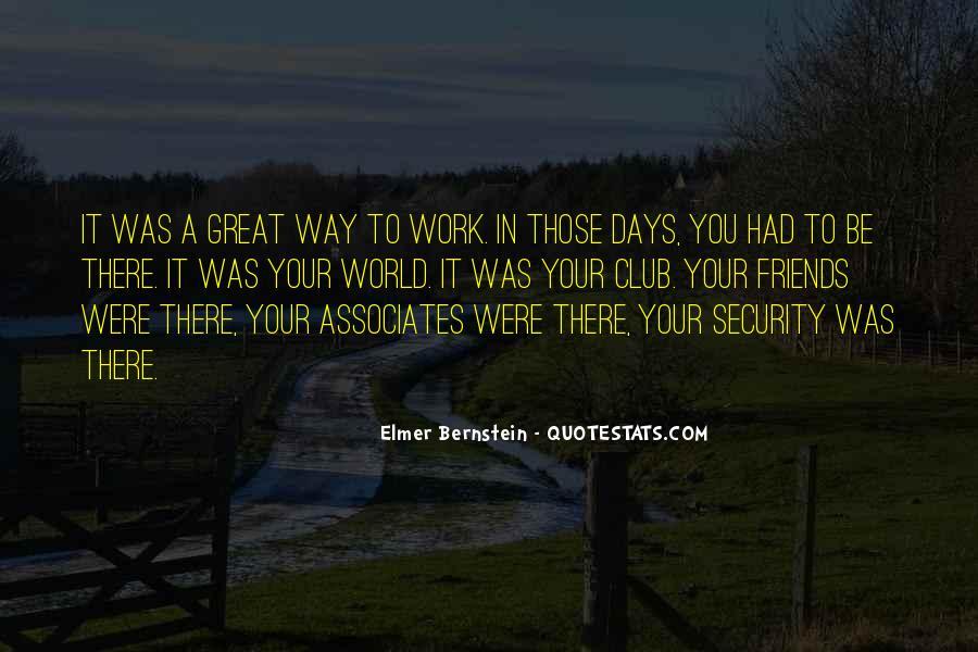 Elmer Bernstein Quotes #960937