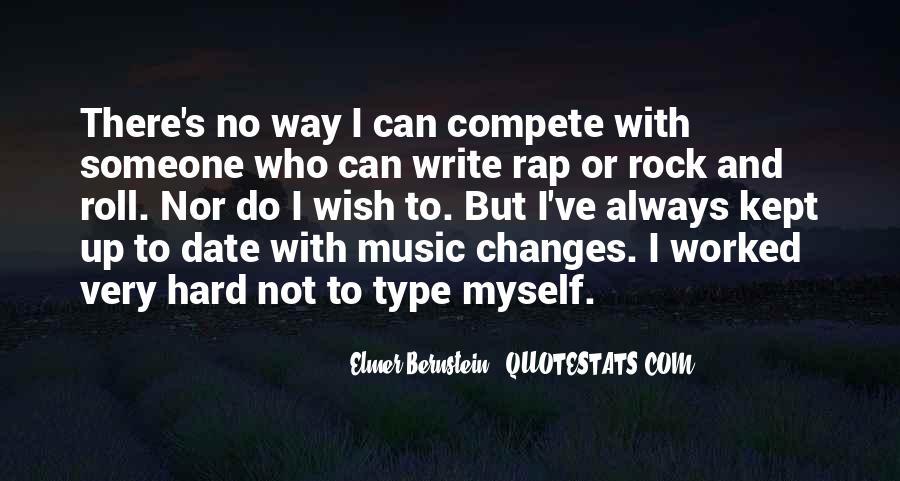 Elmer Bernstein Quotes #988036
