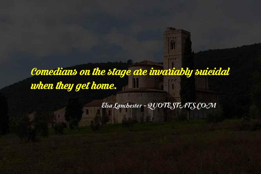 Elsa Lanchester Quotes #547779