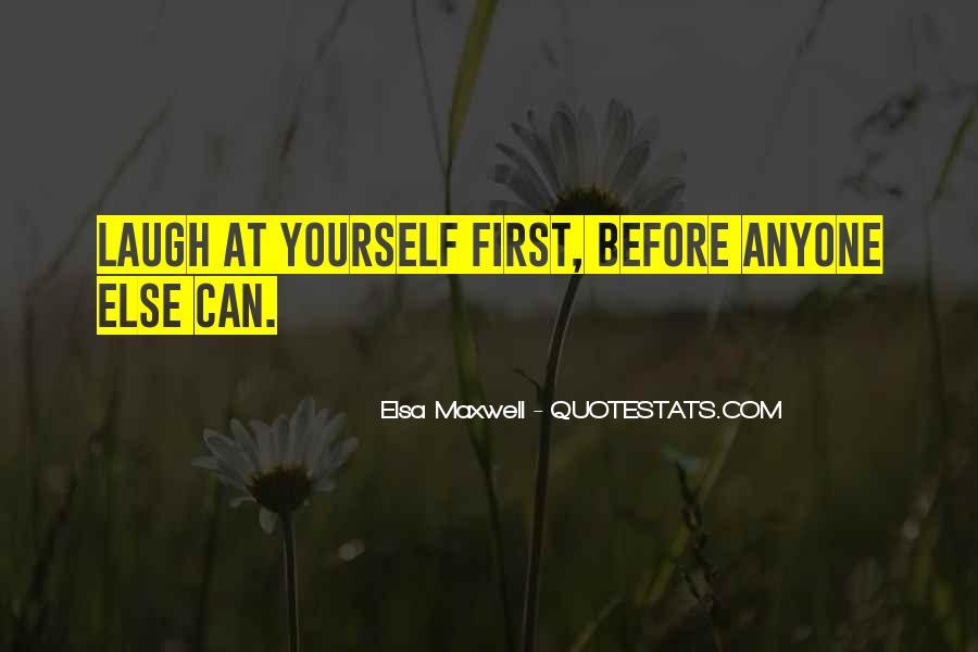 Elsa Maxwell Quotes #1051944