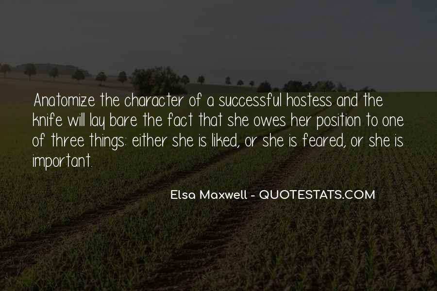 Elsa Maxwell Quotes #1544623