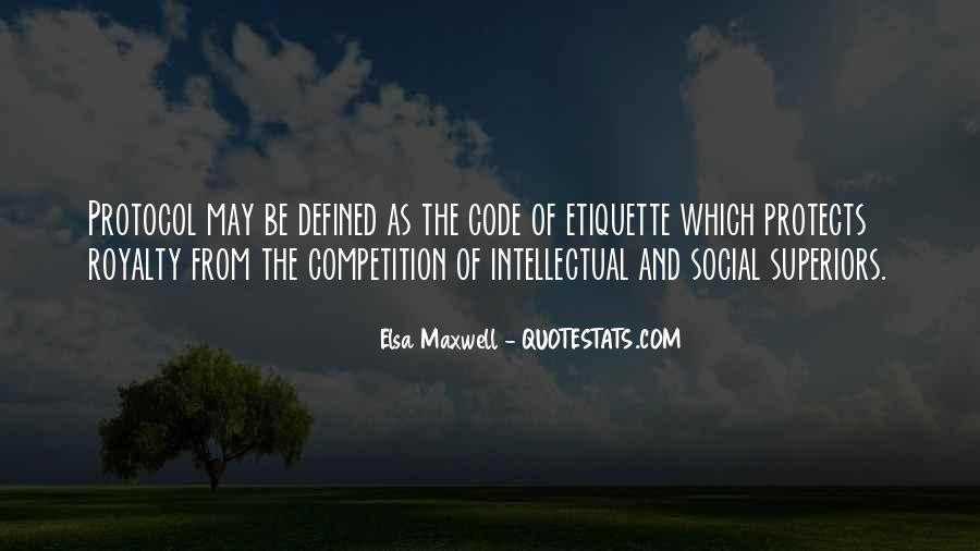 Elsa Maxwell Quotes #676589
