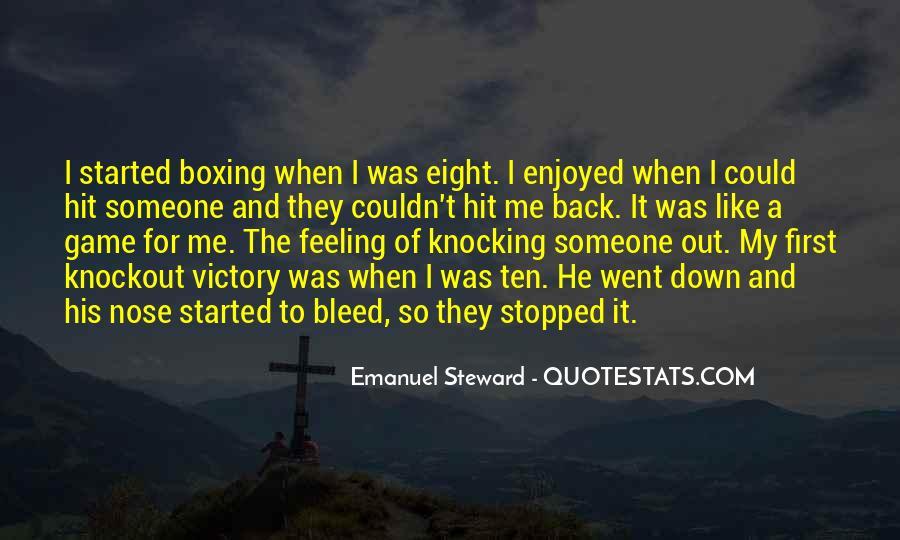 Emanuel Steward Quotes #1765296