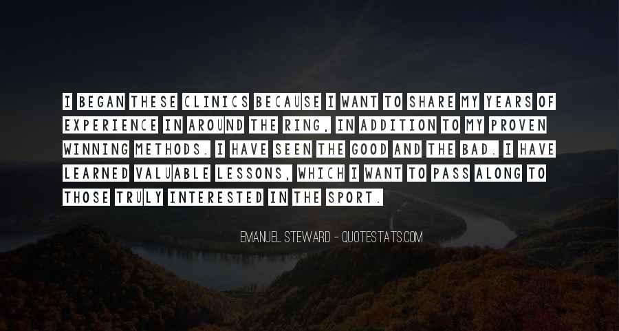 Emanuel Steward Quotes #317373
