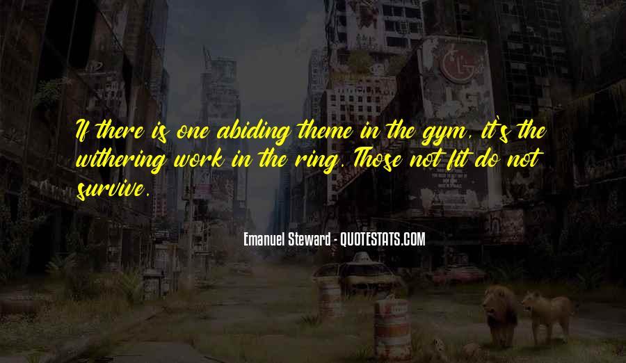 Emanuel Steward Quotes #551058