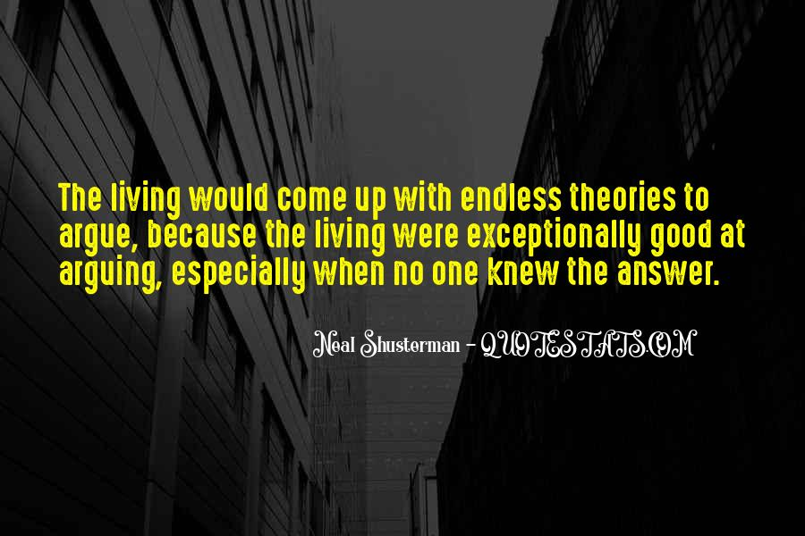 Quotes About No Answers #108181