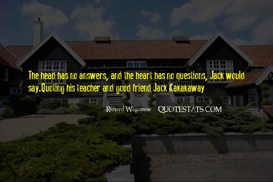 Quotes About No Answers #17325