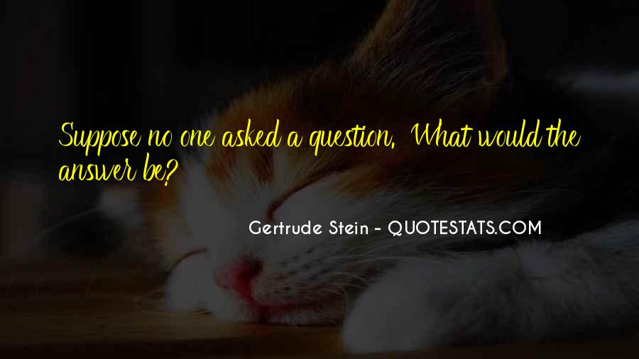 Quotes About No Answers #181665