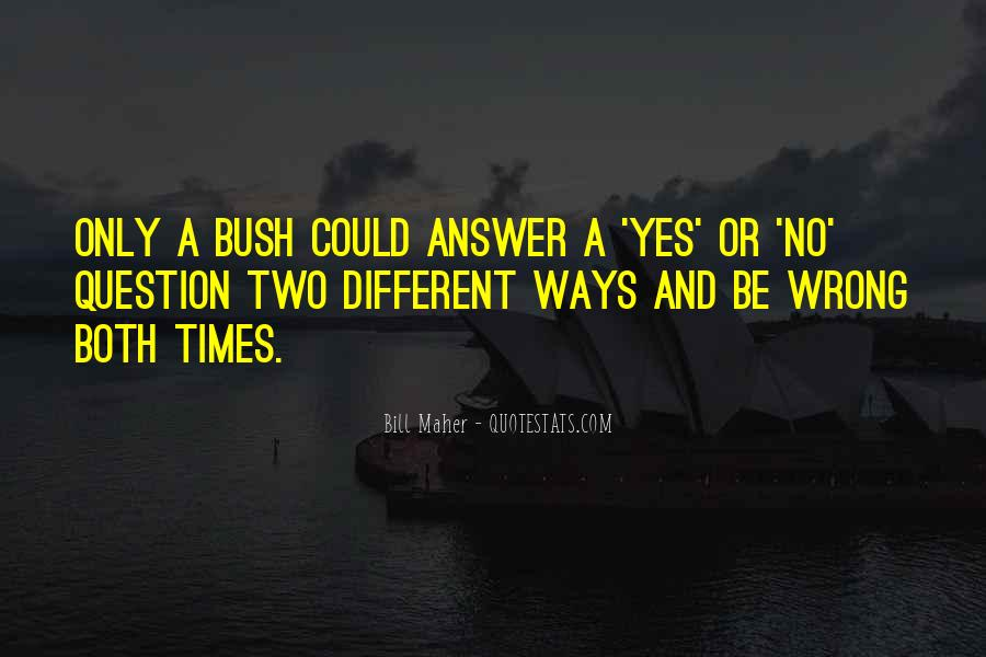 Quotes About No Answers #253617