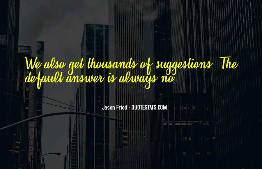 Quotes About No Answers #272735