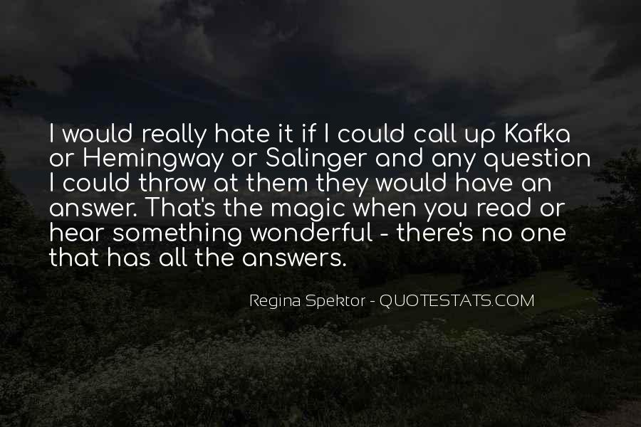 Quotes About No Answers #286810