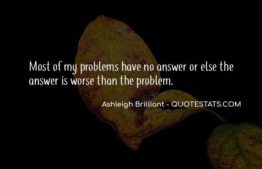Quotes About No Answers #349516
