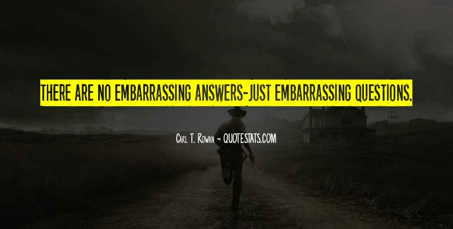 Quotes About No Answers #38603