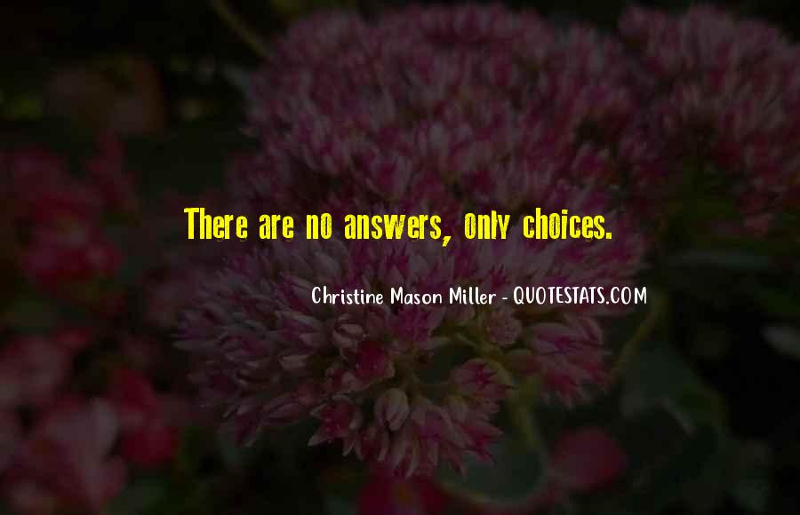 Quotes About No Answers #392099
