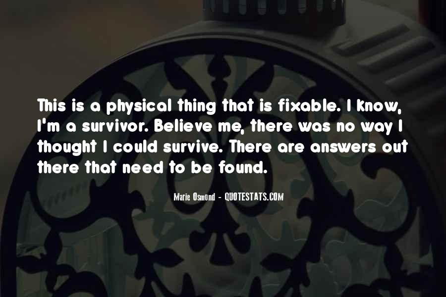 Quotes About No Answers #415962