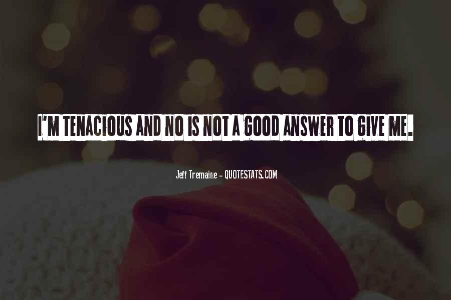Quotes About No Answers #424282