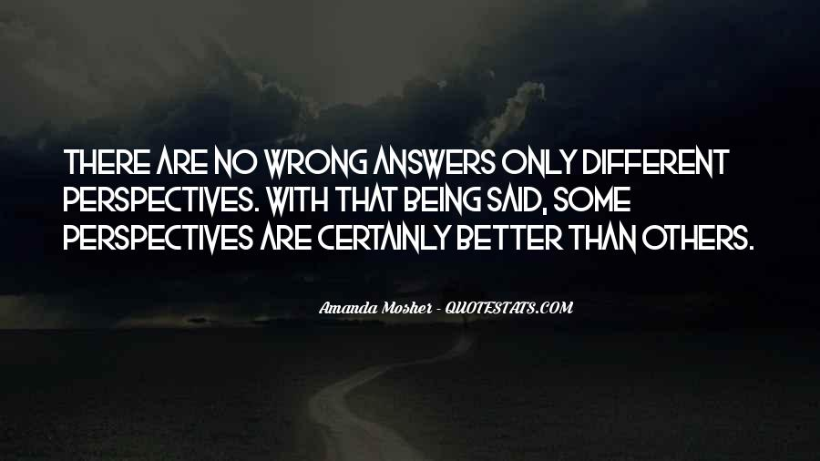 Quotes About No Answers #63216