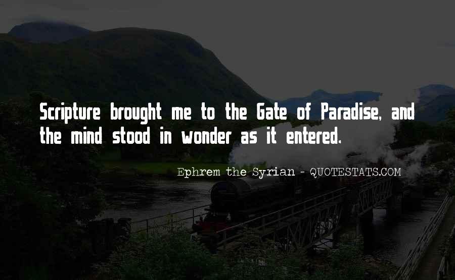 Ephrem The Syrian Quotes #1541956