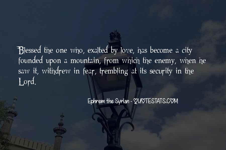 Ephrem The Syrian Quotes #1821774