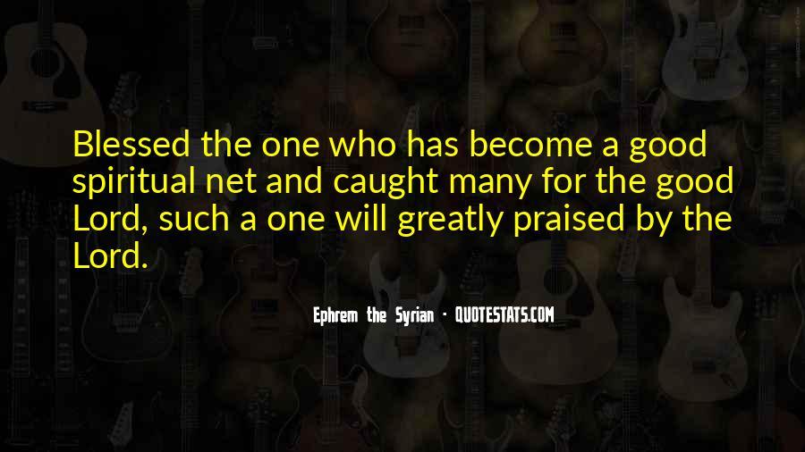 Ephrem The Syrian Quotes #335475