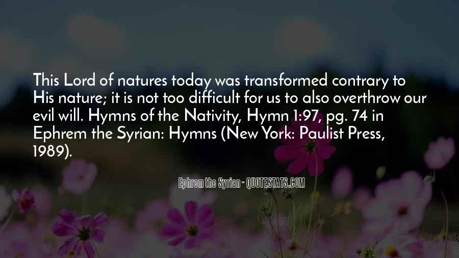 Ephrem The Syrian Quotes #569224