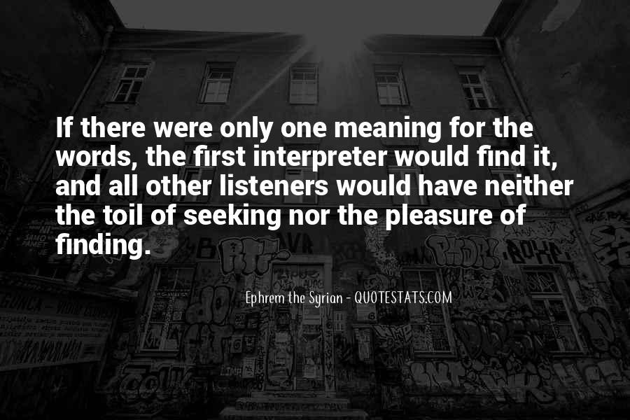 Ephrem The Syrian Quotes #668106